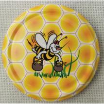 T082 tető méhecske figurás