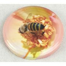 T082 tető rózsaszín méhecske