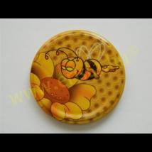 T082 tető rajzolt méhecske