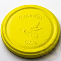 T082 tető dombornyomott sárga