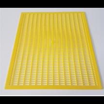 Méhészet Anyarács műanyag sárga 385x460 mm