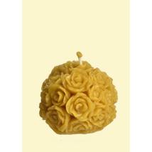 Méhészet Gyertya rózsás gömb