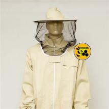 Méhészkabát levehető kalappal