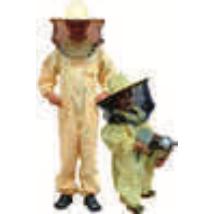 Méhészruha gyerek 116-os levehető kalappal