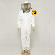 Méhészoveráll levehető kalappal fehér M
