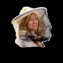 Méhészkalap hagyományos vászontarkós