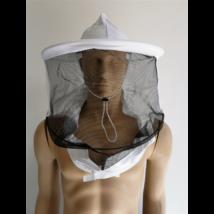 Méhészkalap ruhára zippzározható hagyományos fazonú