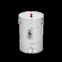 Méhészet Méztartály 50 kg-os INOX, tetővel, műa. csappal - Logar
