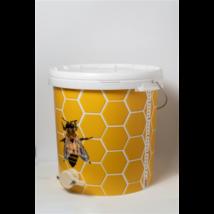Vödör, 40 l méhsejtmintás, csappal
