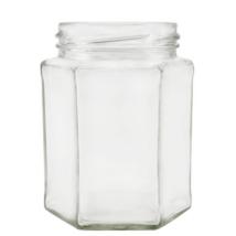 Hexagon 390 ml üveg (T070)