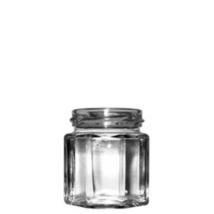 Nyolcszög 100 ml üveg (T053)