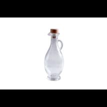 Kancsó üveg 250 ml parafadugóval
