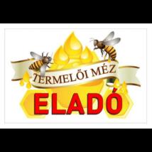 Méhészet Tábla - Termelői méz cseppes