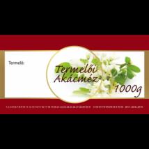 Címke bianco Akác 1000 g