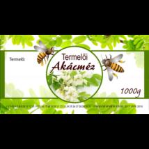Méhészet Címke bianco Akác 1000 g