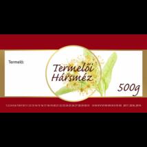 Méhészet Címke bianco Hárs 500g