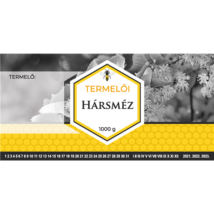 Méhészet Címke bianco Hárs 1000g