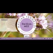 Méhészet Címke bianco Facélia 1000g