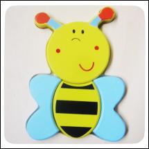 Méhészet Puzzle magasított méhecskés