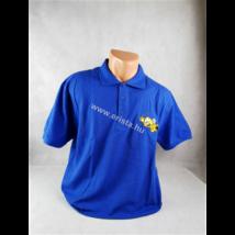 Méhészet Férfi galléros  póló  Royal kék S-es méret