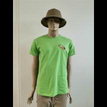 Méhészet Férfi kerek nyakú  póló  Lion zöld S-es méret