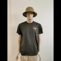 Méhészet Férfi kerek nyakú  póló szürke XL-es méret