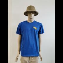 Méhészet Férfi kerek nyakú  póló  Royal kék XL-es méret