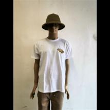 Méhészet Férfi kerek nyakú  póló  fehér XXL-es méret