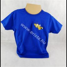 Méhészet Gyerek kerek nyakú póló 1-2 éves korig Kék