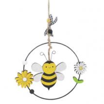 Méhecske karikában-dekoráció