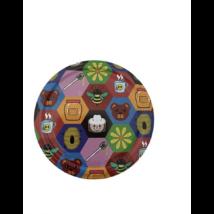 T082 tető mozaikos színes