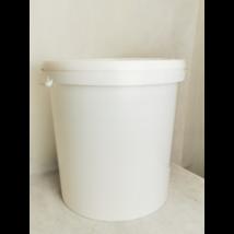 Vödör, 40 l műanyag fehér