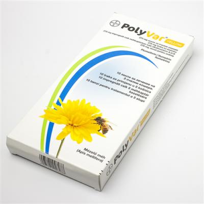 Méhészet PolyVar Yellow 275 mg impregnált csík 10x