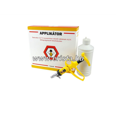 Destruktor applikátor méhészeti gyógyszerekhez eszköz