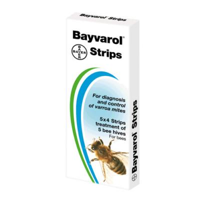 Bayvarol 5*4  csík nem vényköteles varroa atka elleni szer