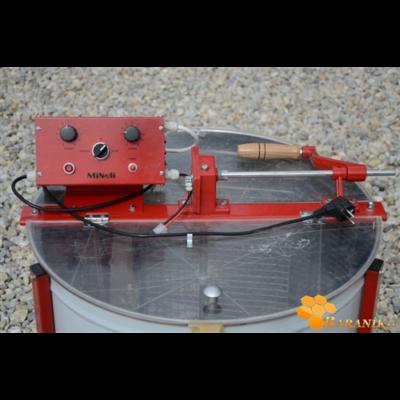 Méhészet Pörgető 4 keretes, 60 cm, 12V/240V/kézi méhészeti gépek