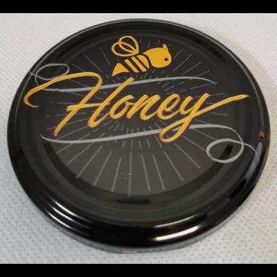 Méhészet T082 tető fekete, méhecskés