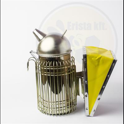 Méhészet Füstölő rozsdamentes sárga pumpával