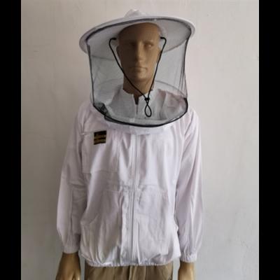 Méhészkabát zippzáras vékony L-es méret