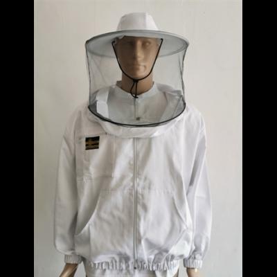 Méhészkabát zippzáras vastag M-es méret