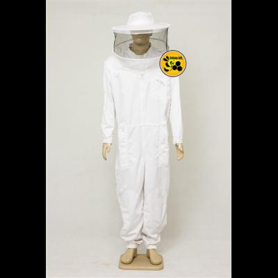 Méhészoveráll levehető kalappal/S Sw.