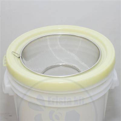 Méhészet Mézszűrő 40 kg-os műanyag méztartályhoz fém