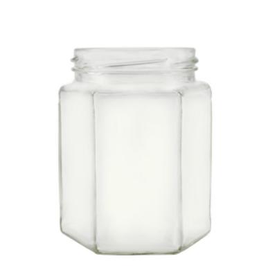 Méhészet Hexagon 190 ml üveg (T058)