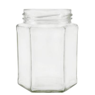 Méhészet Hexagon 390 ml üveg (T070)