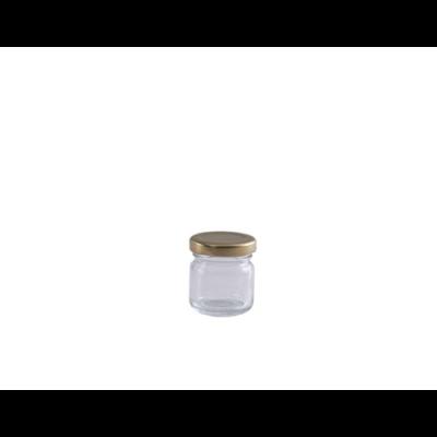Méhészet Konzerves 40 ml üveg (T043)