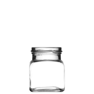 Négyszögletes üveg 120 ml (T053)
