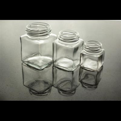 Méhészet Négyszögletes üveg 100 ml (T048)
