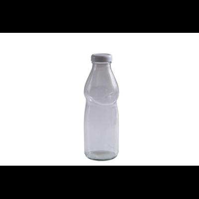 Ivóleves üveg 500 ml tetővel