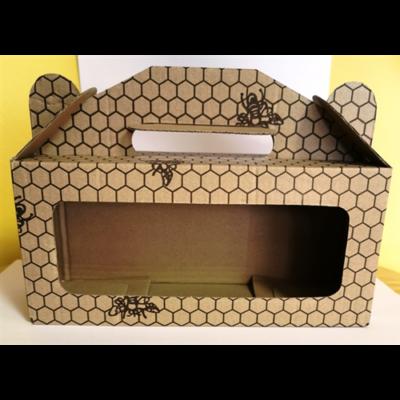 Méhészet Doboz méhsejtes 3x212ml