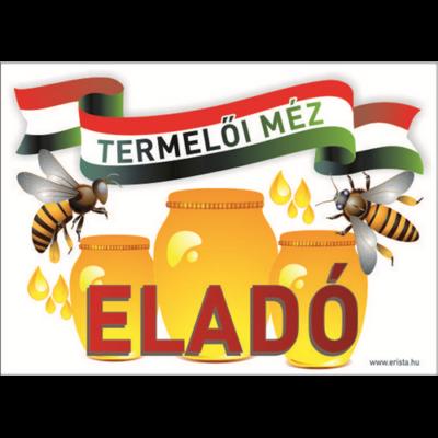 Méhészet Tábla - Termelői méz Nemzeti